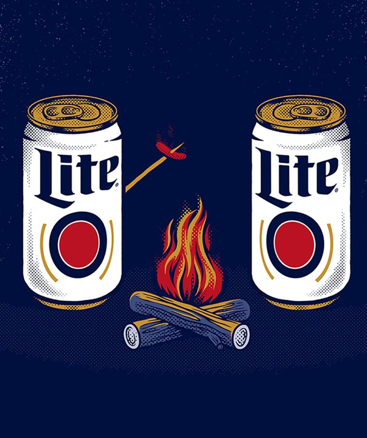 Miller Lite Out of Home Summer Campaign